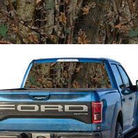 Bowtech Oak Camo Back Window Graphic Perforated Window Film Decal Ebay