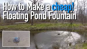 how to make a floating pond founn