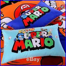 twin queen size super mario brothers
