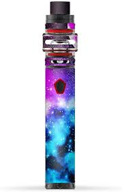 Amazon Com Skin Decal Vinyl Wrap For Smok Stick Baby Prince Vape Stickers Skins Cover Galaxy Fluorescent Computers Accessories