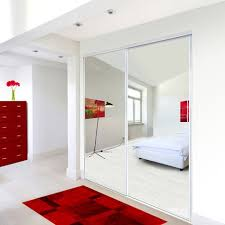 reliabilt mirror panel sliding closet