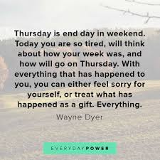 thursday quotes to inspire the end of your week
