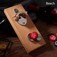 bottle opener with magnetic cap catcher