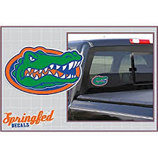 Amazon Com Florida Gators Gator Head Logo 4 Vinyl Decal Car Truck Sticker Uf Everything Else