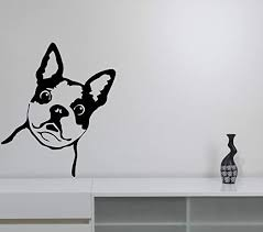 Amazon Com Surprised Dog Wall Vinyl Decal Funny Puppy Vinyl Sticker Adorable Doggy Art Best Cut Animal Modern Decorations For Home Kids Room Bedroom Pet Decor Made In Usa Fast Delivery Home