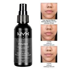 nyx makeup setting spray review dewy