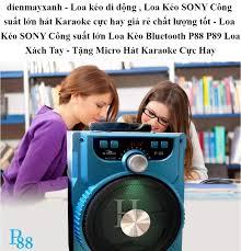 dienmayxanh - Loa kéo di động , Loa Kéo SONY Công suất lớn hát Karaoke cực  hay giá rẻ chất lượng tốt - Loa Kéo SONY Công suất lớn Loa Kéo Bluetooth