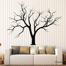 Tree Wall Decals Gothic Nature Tree Branches Home Design Sticker Living Room Bedroom Wall Sticker Art Mural Home Decoration L622 Wall Stickers Aliexpress