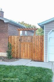 How To Build A Fence Pergola