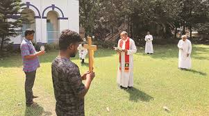 COVID-19 lockdown has forced churches to take religious services ...