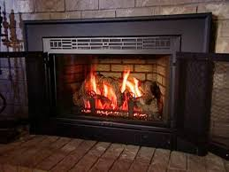 wood burning fireplace to gas