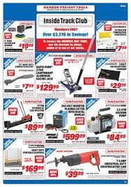 Inside Track Club Harbor Freight Tools