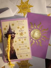 Tangled Invites Fiestas De Rapunzel Invitaciones De Rapunzel