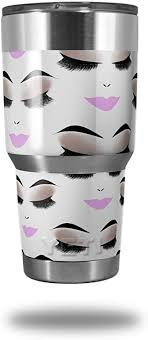 Amazon Com Skin Decal Wrap For Yeti Tumbler Rambler 30 Oz Face Light Pink Tumbler Not Included By Wraptorskinz Tumblers Water Glasses