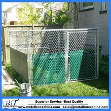 China Big Dog Use Metal Chain Link Outdoor Dog Kennels Cages China Dog Cage And Pet House Price