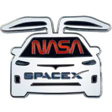 Products Tagged Spacex Nasa Tesla Demo 2 Mission Launch Pin Www Leochallengecoins Com