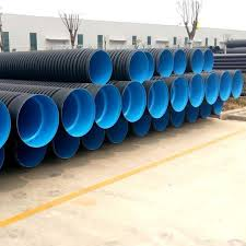double wall corrugated drainage pipe