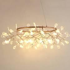 modern led lamp firefly tree branch