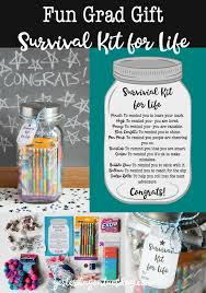 fun grad gift survival kit for life a