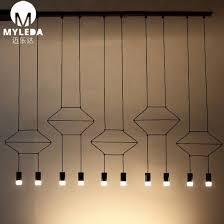 modern simple chandelier pendant light
