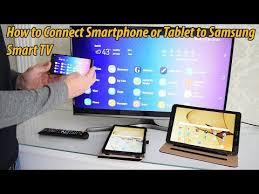 smartphone or tablet to samsung smart