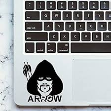 Amazon Com Green Arrow Laptop Sticker Trackpad Decal For Apple Macbook Pro Air Retina 11 12 13 15 Inch Acer Mac Book Keyboard Touchpad Skin Home Audio Theater