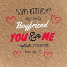 best happy birthday boyfriend bf quotes status greetings