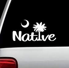 Amazon Com Native South Carolina Vacation Decal Sticker Arts Crafts Sewing