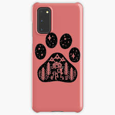 Camping Hiking Climbing Outdoors Dog Paw Case Skin For Samsung Galaxy By Kimoufaster Redbubble