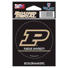 Purdue University Car Decals Decal Sets Purdue Boilermakers Car Decal C Bigtenstore Com