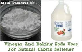 vinegar and baking soda uses for