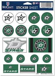 Hcw Dallas Stars Vinyl Sticker Sheet 5 X7 Decals Nhl Licensed Authentic At Amazon S Sports Collectibles Store