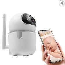 Camera Giám Sát Trẻ Em 1080p Wifi Cảm Biến Chuyển Động giảm chỉ còn 669,600  đ