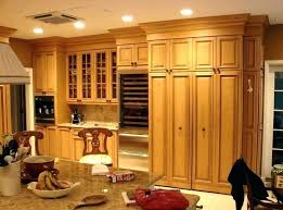 upper kitchen cabinets how tall are