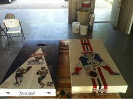 So What Do You All Think Of My Cornhole Boards Patriots