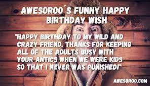🥇 most funny hilarious birthday wishes quotes dec