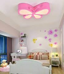 pink ceiling light for kids girls room