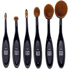 oval brush set make up atelier paris