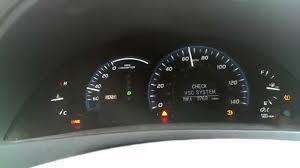 camry hybrid no brakes check vsc system