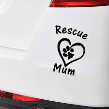 Save Mom Dog Cat Pet Animal Car Sticker Vinyl Car Packing Accessories Product Decorating Applique Animal Car Stickers Aliexpress