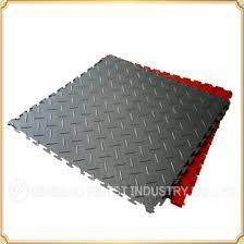 china diamond plate garage tiles rubber