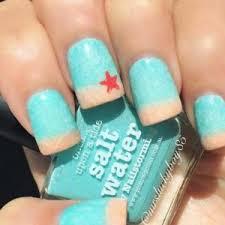 easy ocean nail designs spring