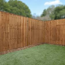 5ft X 6ft Pressure Treated Vertical Hit And Miss Fence Panel Mercia Garden Products