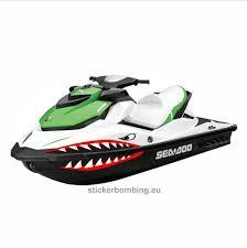 Universal Stickers Set For All Models Jet Ski Sea Doo Yamaha Kawasak Stickerbombing Eu