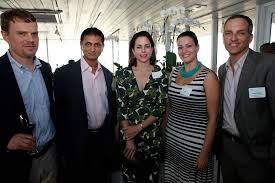 Adriana Cisneros with Andy Hasselwander, Prakash Mishra, J… | Flickr