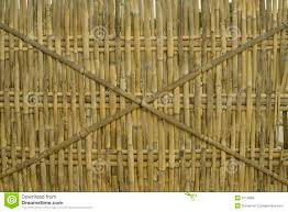 Bamboo Fence Background Philippines Stock Photo Image Of Simple House 2114886