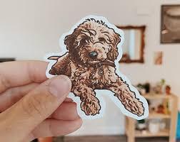 Goldendoodle Sticker Etsy