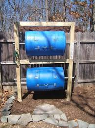 double decker drum composter diy