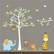 Shop Jungle Wall Decals Animal Decals Wall Stickers Kids Room Decor Overstock 8656943