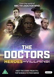 Reeltime Pictures The Doctors: Heroes & Villains! – Merchandise Guide - The  Doctor Who Site
